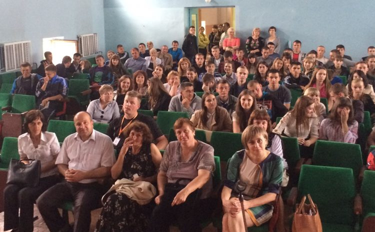 Meeting with students and teachers of Gorokhiv College of Lviv National Agrarian University
