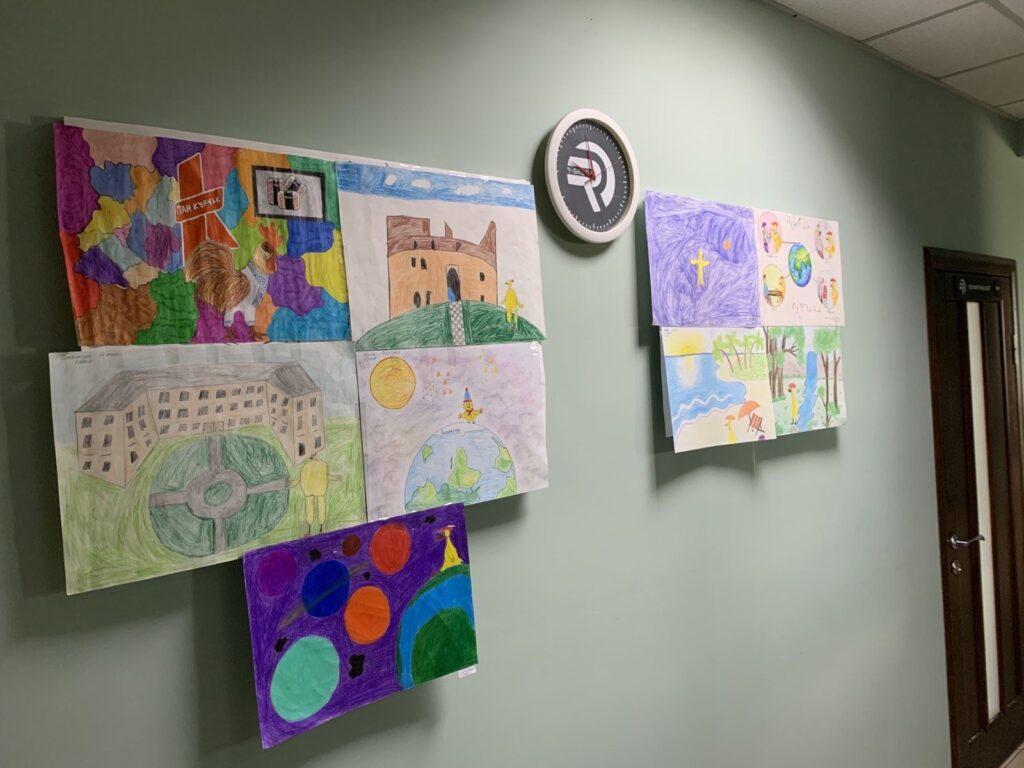 "In APG ""Pan Kurchak"" held a children's drawing contest"
