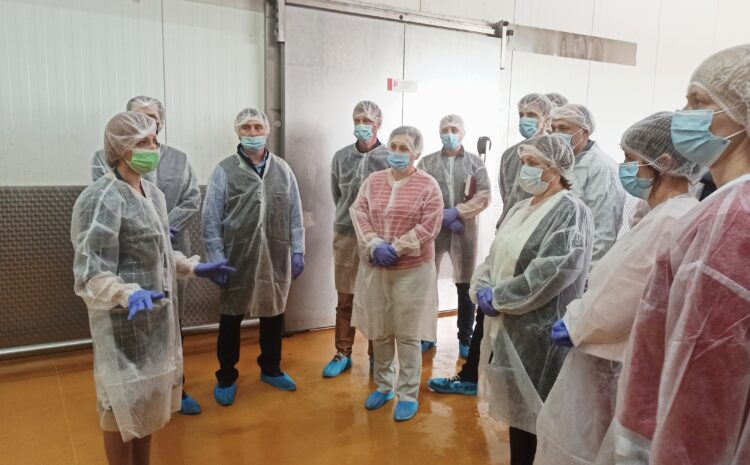 """Be open to customers: APG """"Mr. Kurchak"""" conducted a tour of its enterprises"""