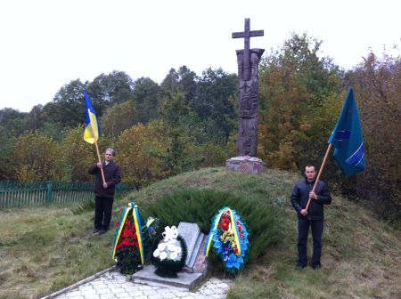"""On the Day of Intercession, """"Mr. Kurchak"""" honored UPA soldiers"""