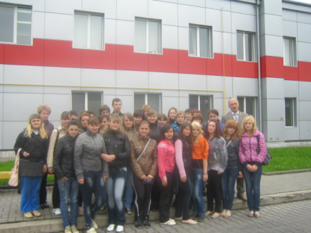 """На ТзОВ """"ВМП"""" для учнів Нововолинського технічного училища № 11 було проведено """"День відкритих дверей"""""""